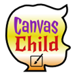 canvas child footer